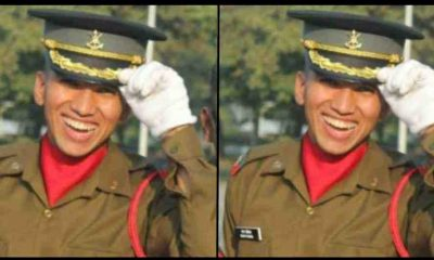 "alt=""sagar paliwal pasout from Indian military academy dehradun"""