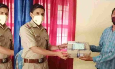 "alt=""uttarakhand police person ordered medicine from Bareilly to pithoragarh"""