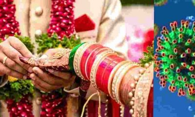 "alt=""bride groom Corona positive news dehradun"""