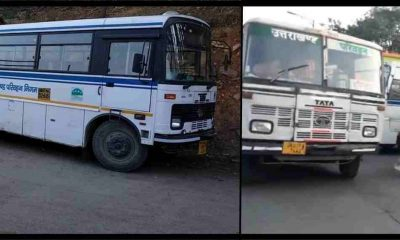 "alt=""Uttarakhand roadways bus news for lockdown"""