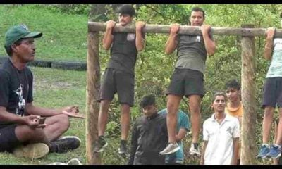 "alt""Indian army training by bageshwar narayan singh#"