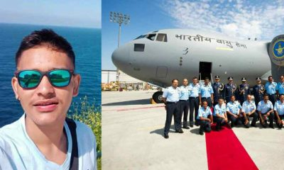 "alt=""uttarakhand Shobhit Mehta become officer in indian airforce"