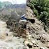 "alt="" uttarakhand weather news and pithoragarh rain many house and bridge collapsed"""