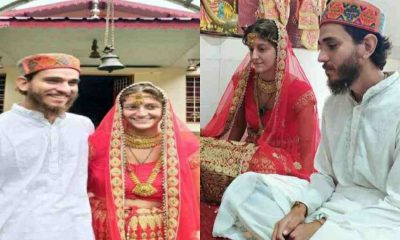 "alt=""foreigners couple marriage uttarakhand news bride groom"""