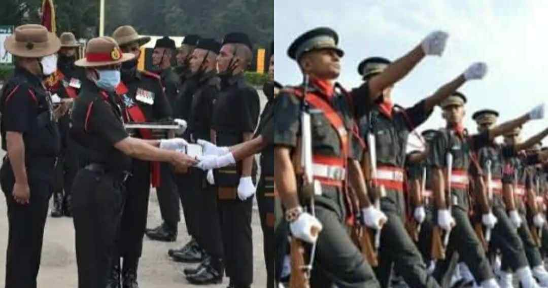"alt=""191 new recruits become soldiers of garhwal rifles in indian army"""