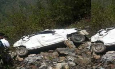 uttarakhand car accident in chamoli