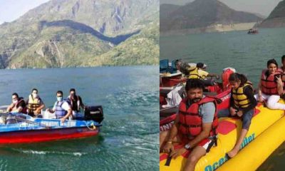 Uttarakhand government Permission granted for Tehri Lake boating