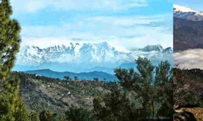 Snow Fall in Uttarakhand started after monsoon season