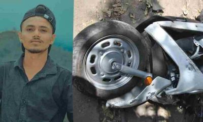 Uttarakhand news: scooty accident in Ramnagar Nainital, Gautam Kashyap died on the spot.