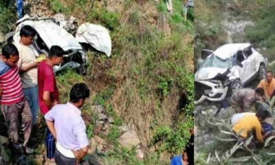 Uttarakhand news: two youth died on the spot in dehradun car Accident