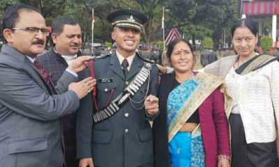 Uttarakhand news: Rudraprayag Akhilesh Singh Rana become military officer in indian army from IMA dehradun.