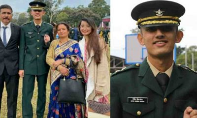 Uttarakhand News: champwat Nitin Singh Bohra became military officer in Indian Army passout from IMA Dehradun