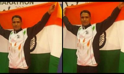 Uttarakhand news: indian army soldier Bahadur Dhoni from champawat wins gold medal in Dhaka Bangladesh.