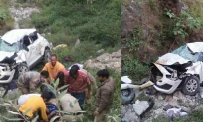 Uttarakhand news: two people died and two injured due to car accident in Tehri Garhwal district of Uttarakhand.