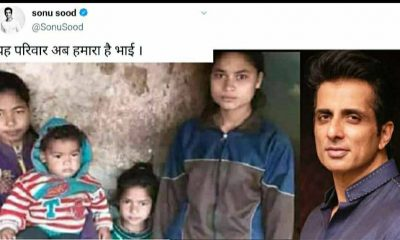 Uttarakhand: Actor Sonu Sood adopts four girls who lost their father in Chamoli tragedy